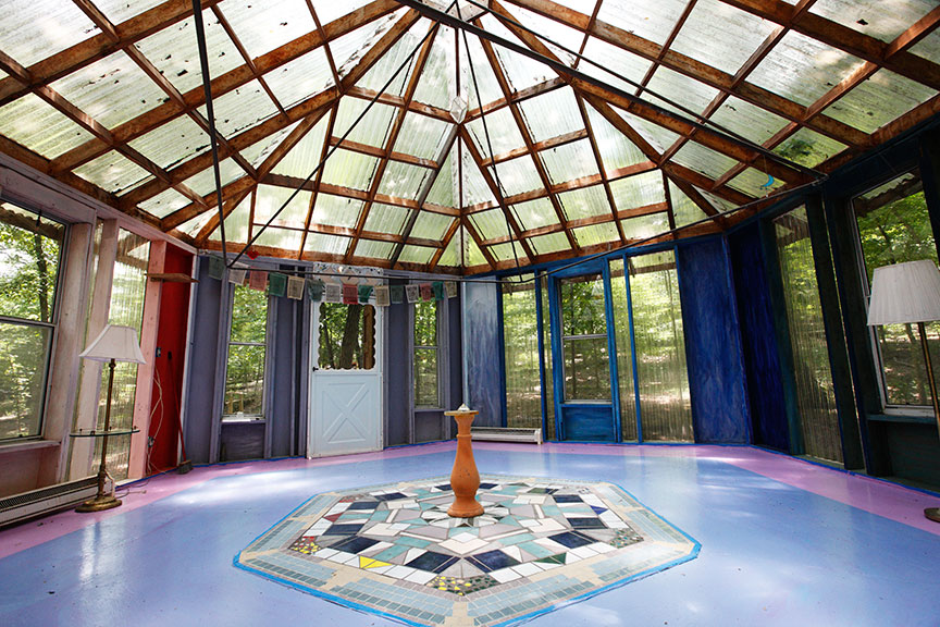 Crystal Palace - a meditation hall