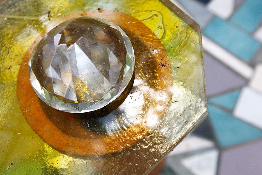 Crystal Palace lighted crystal