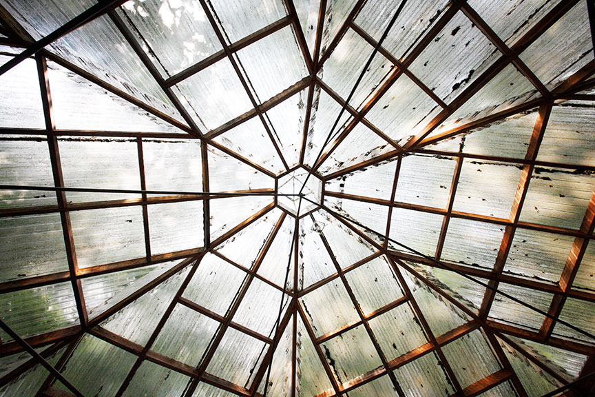 Crystal Palace, looking up