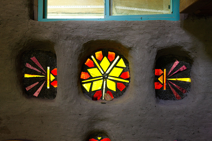 Cob Castle  window detail