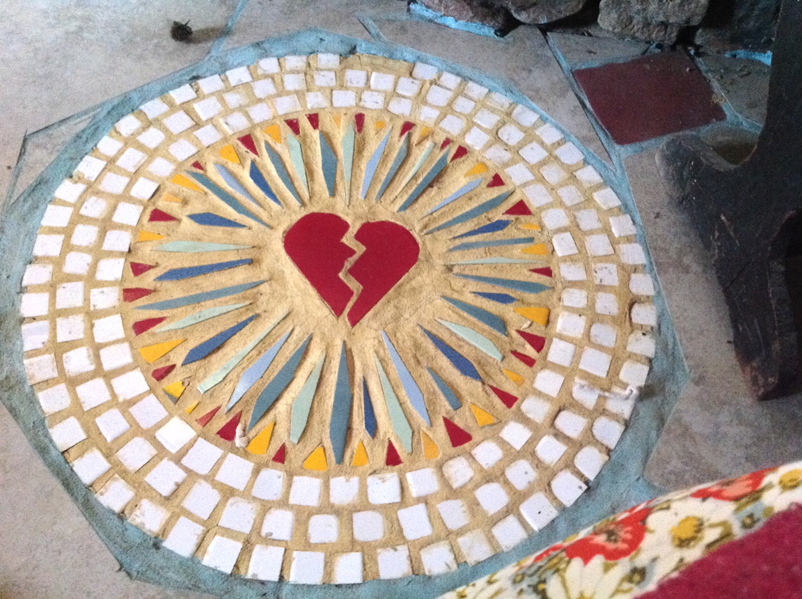 Virgin of Guadalupe 'Prayers' tile