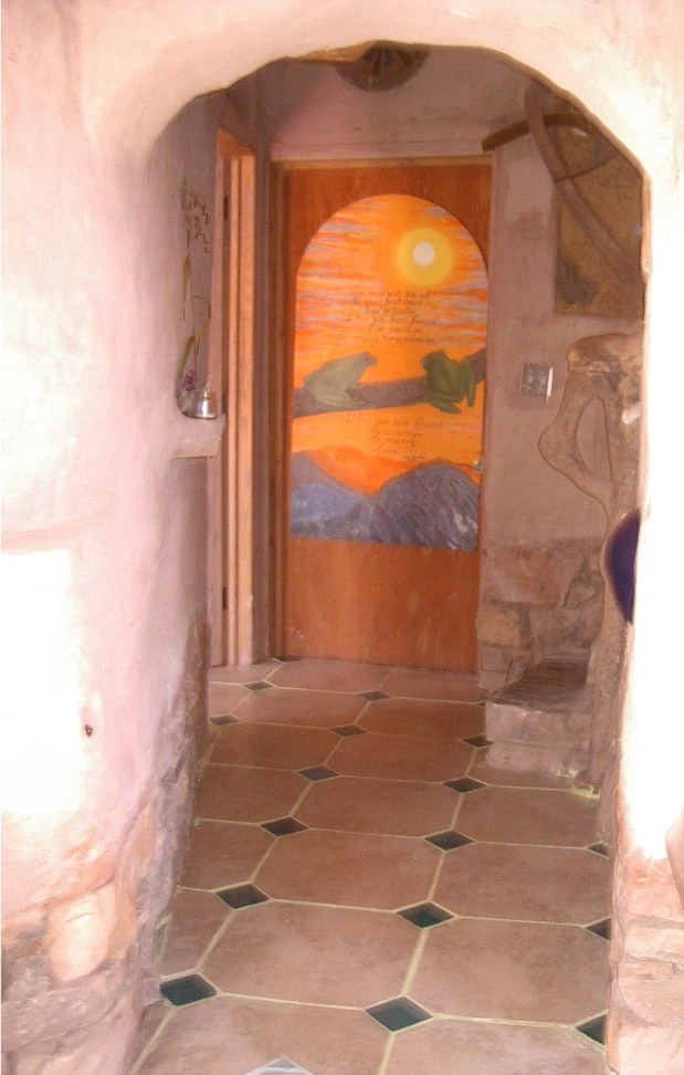 Hall to kitchen