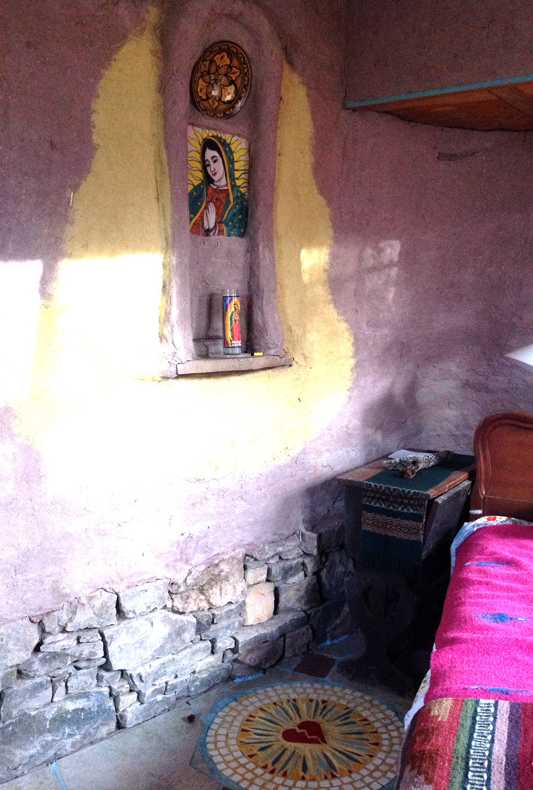 Virgin of Guadalupe room