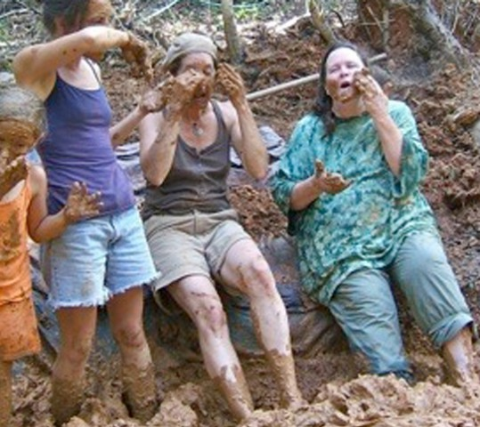 Mud Play Down in the Hollow
