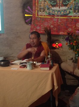 Geshe in Castle - weekend retreat