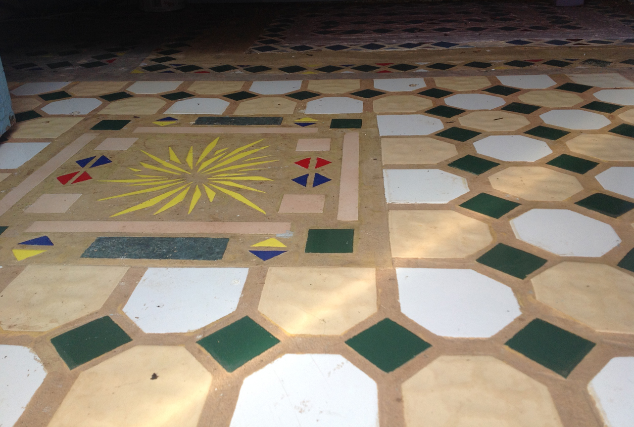 Lotus Kuti - floor tile