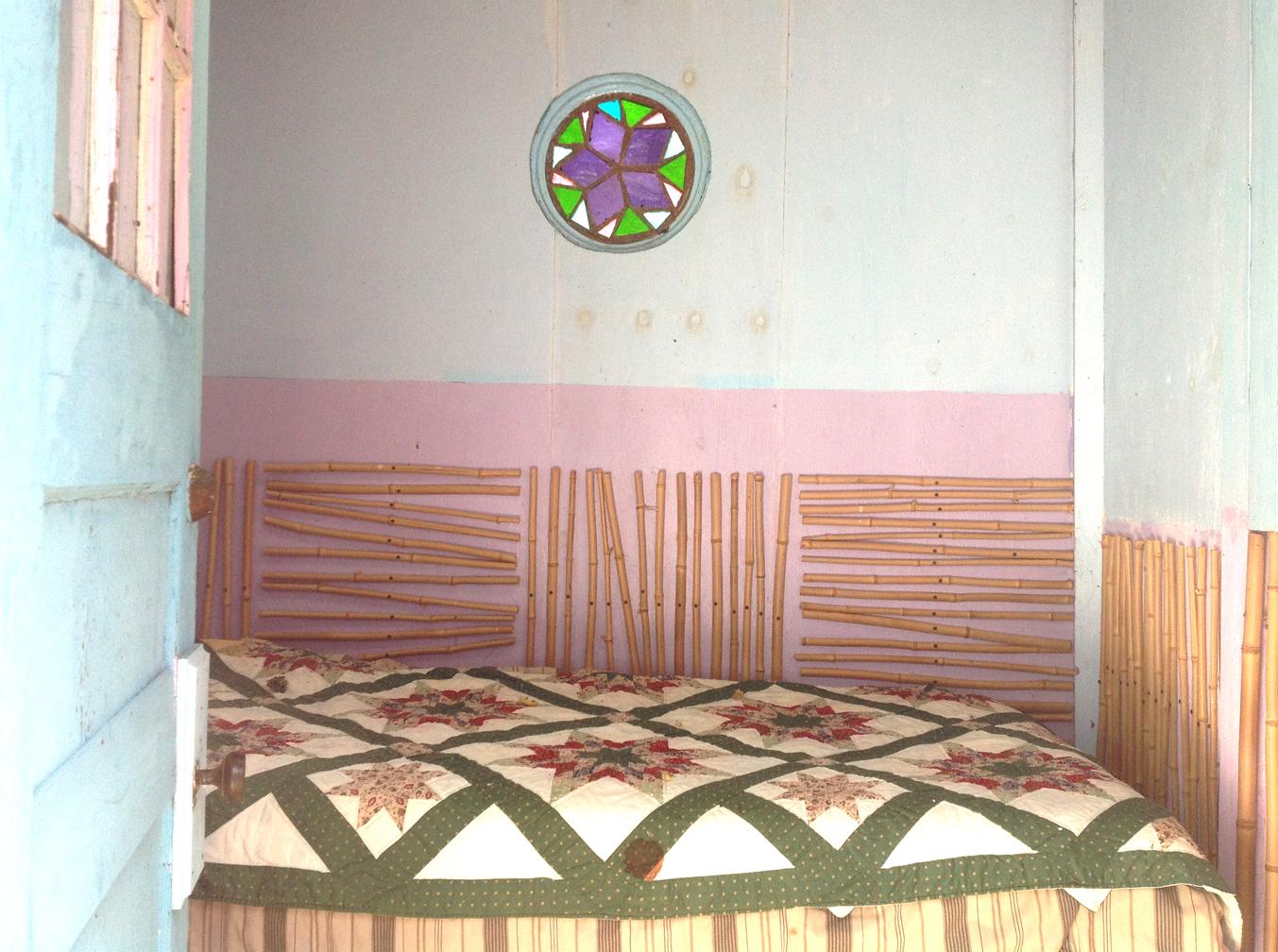 Lotus Kuti - inside Meditation Hut