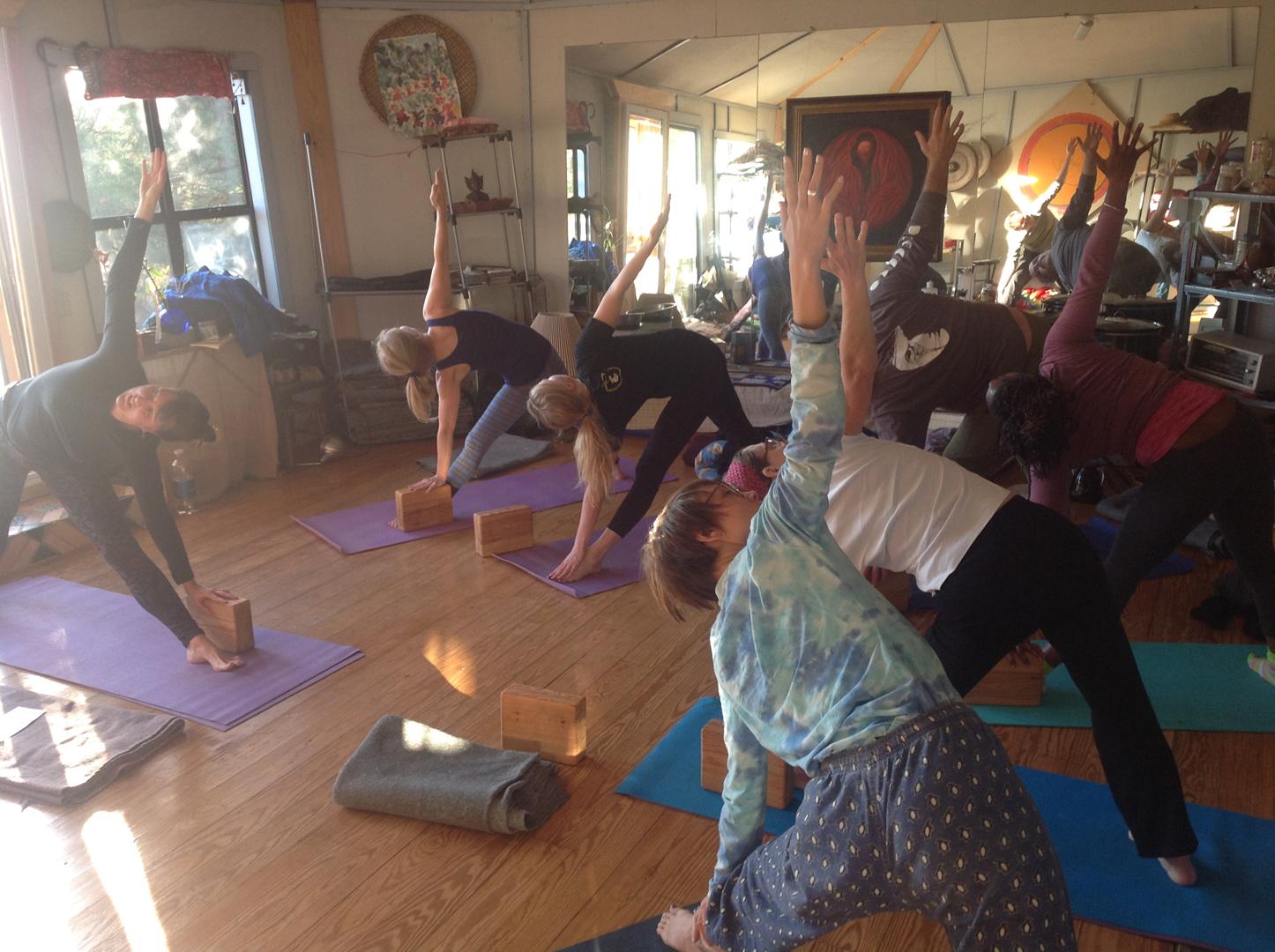 Main Hall - yoga class