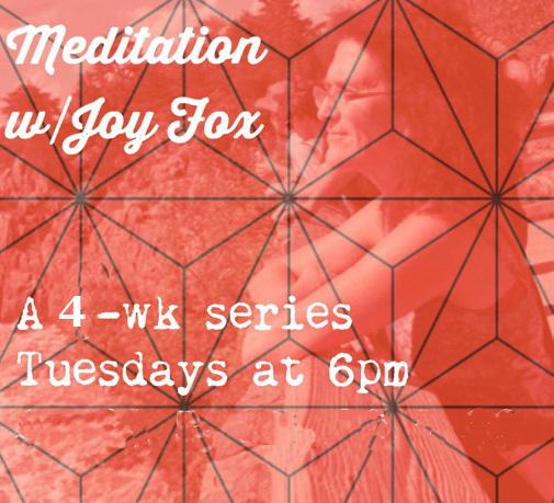 Meditation with Joy @ Yoga Deza