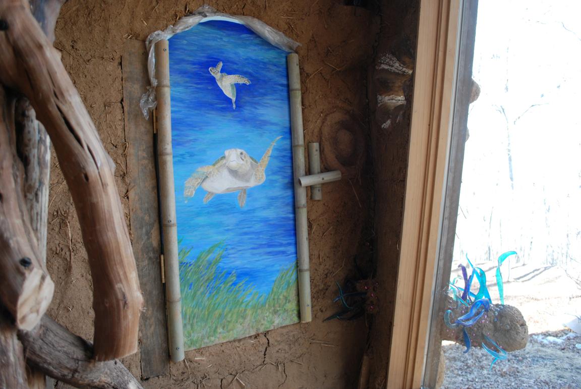 Turle Room mural by Pat Herman