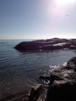 The Rock at st helenas bay